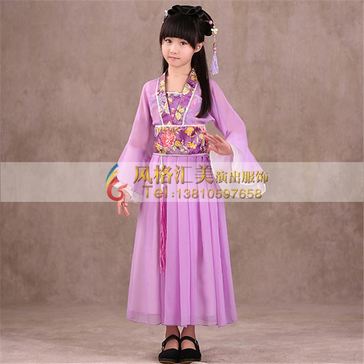 儿童古装服装