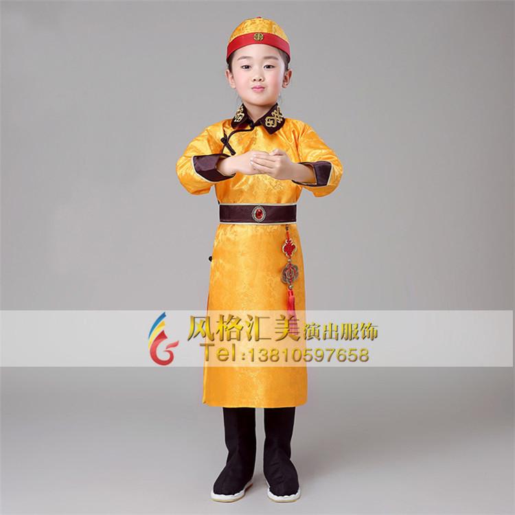 儿童古装演出服,儿童古代衣服批发_风格汇美演出服饰