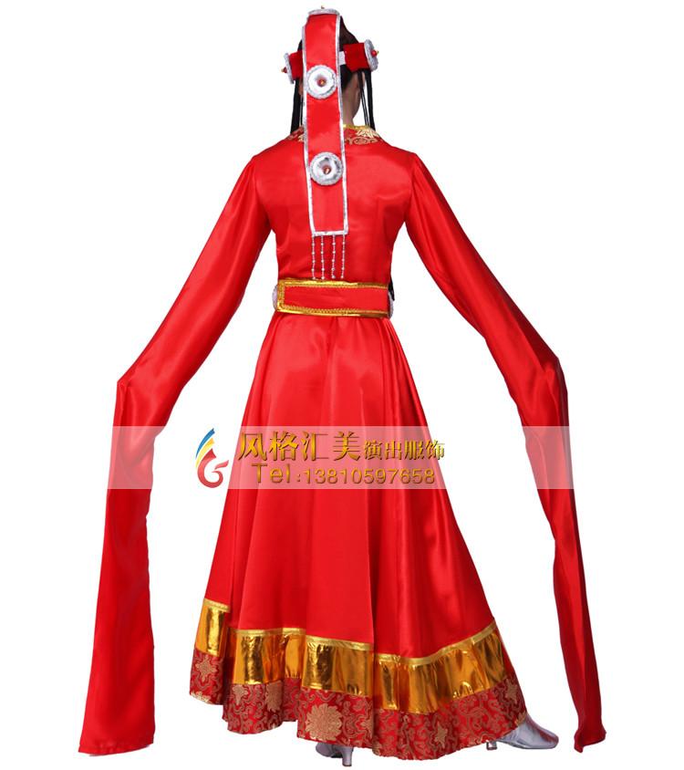 藏族舞蹈服装设计