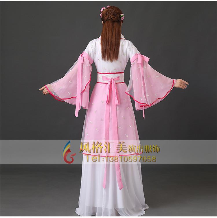 2017年唐朝女子服装女子古代服装定做 古代演出服装定制专家