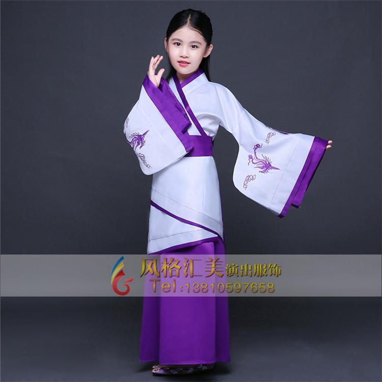儿童古代表演服装,儿童古代服装定制_风格汇美演出服饰