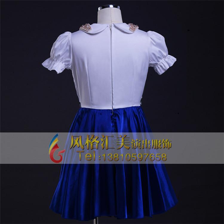 儿童合唱服装 儿童合唱服 儿童大合唱舞蹈服装定制_风格汇美演出服饰