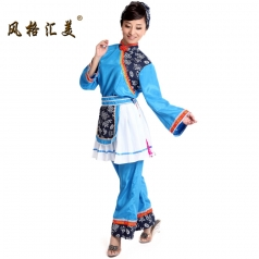 风格汇美 舞台演出服装女装 阿庆嫂演出服红军年代服装表演装
