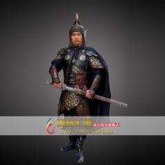 古代盔甲 清朝兵器