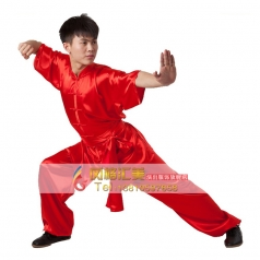 南韩纺丝太极服 练功服 男太极裤 太极服 短袖