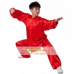 弹力纺丝西式矮领对襟太极服 短袖 免熨烫透气不沾身 浅紫色