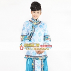 女士朝代服装  格格演出舞台服装风格汇美演出服饰