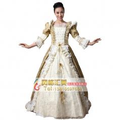 西式王后公主宫廷服装 表演服