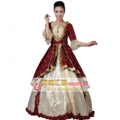 欧洲公主裙 西式宫廷服装表演服