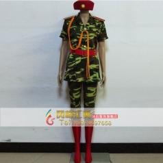 八一建军节女士演出服装军装