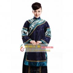 清朝女士服装  年代舞台表演服装