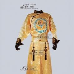 古代皇帝演出服  清朝皇帝古装