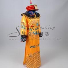 北京清朝皇帝服装 太子龙袍