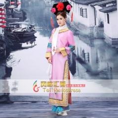 古代格格演出服   清朝公主格格服装  舞台古装演出服