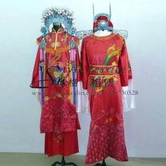 北京凤冠霞帔 新娘新郎演出服装  古代结婚礼服
