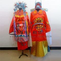 古代新娘新郎结婚服装 凤冠霞帔 新郎官服装