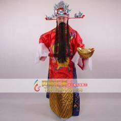 北京财神服装   中国古代财神演出服 舞台表演服装