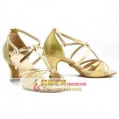 女士交谊舞广场舞舞蹈鞋 高跟拉丁舞蹈鞋