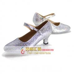 中跟成人拉丁舞蹈鞋 女士舞鞋