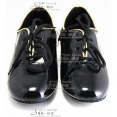 黑色舞蹈鞋 女士拉丁舞表演鞋