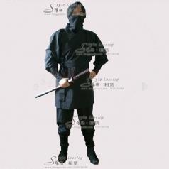 北京日本忍者服装 黑色忍术舞台装  年会表演服