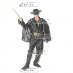 北京佐罗演出服  Zorro影视演出服 表演服装