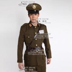 男士军队制服 舞台演出服装