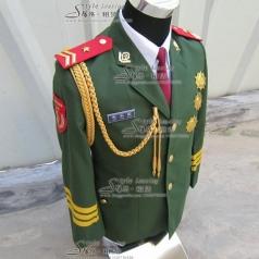 男士军队表演服装  海军仪仗队演出服装