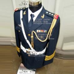 海军陆军仪仗队演出服装  军队礼服