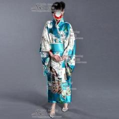 日本女士和服演出服装  表演服装