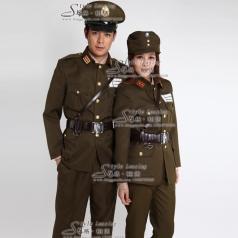 男士军队服装 女士军队制服