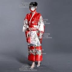 和服表演服装 日本民族舞台装