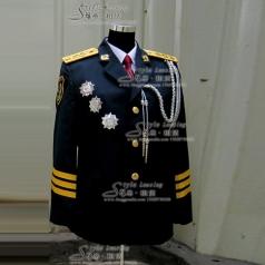 男士军旅演出服装  军队制服风格汇美演出服饰