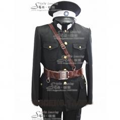 舞台演出服装 男士军队服装