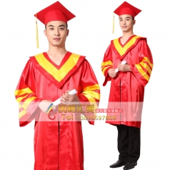 风格汇美 2013年大学生毕业校长服 校长学士袍 学士帽