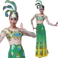风格汇美女士傣族服装民族服装 舞台演出服装傣族舞蹈服装