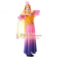 少数民族 新疆舞蹈服装 演出服装 民族服装 舞台服装女
