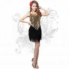 新款吊带亮片连衣裙小礼服DS演出服装舞台酒吧时尚女歌手装