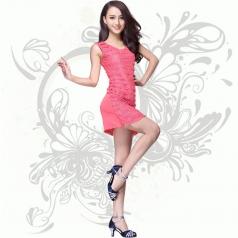 最新演出服装DS流苏亮片夜店酒吧舞台服装领舞时尚歌手连衣裙女