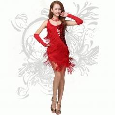 拉丁舞流苏服装 交谊舞服装 舞蹈服装 国标舞舞蹈服装