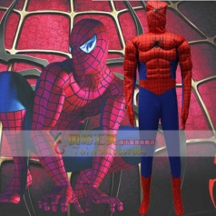 风格汇美蜘蛛侠cosplay演出服装舞台服饰