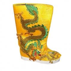 定做民族舞鞋 舞蹈靴 蒙古靴藏靴 新疆舞靴 藏族靴 影视皇帝靴