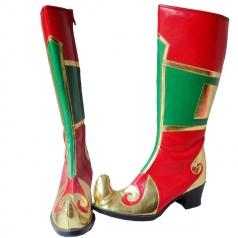 民族舞蹈蒙古靴子 西藏族新疆舞蹈鞋子 藏族舞蹈靴 手工靴女士