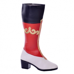 新款蒙古藏族靴 新疆舞蹈靴 皮革舞鞋 藏族手工靴 精美舞蹈靴