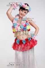 草裙舞蹈服 现代舞蹈服