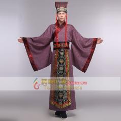 风格汇美古代服装唐装汉服曲裾服装男年会话剧演出服影楼拍摄服装