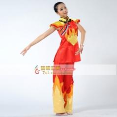 秧歌服装演出服 女装 古典舞 开场舞民族舞蹈定做