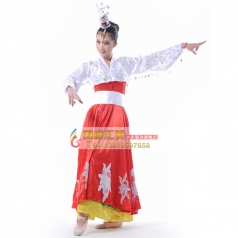 风格汇美女士民族舞台演出服装 朝鲜舞蹈服装 民族服装可订制