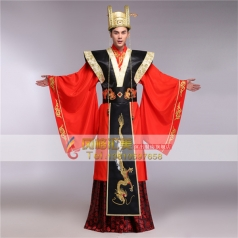 风格汇美新款古装唐装汉服男龙袍皇帝服装太子装演出服装古代服装