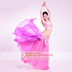 印度舞蹈服装,印度舞蹈演出服装